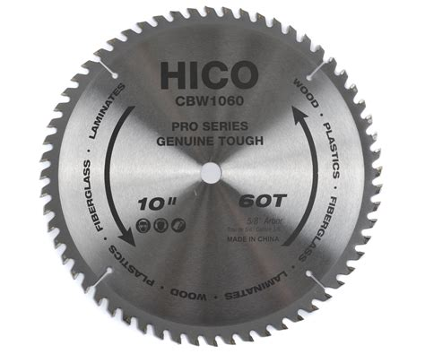 thin kerf saw blade hico wood saw blade 10 inch 60 tooth atb thin kerf general
