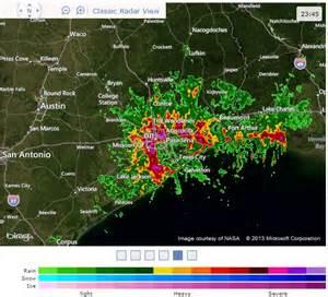 houston weather map 1 21 2013 large radar pulse out of houston