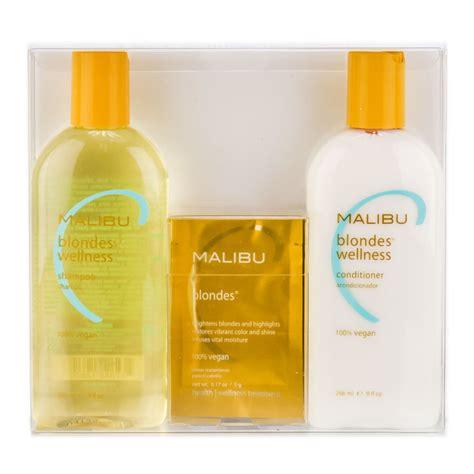Home Hair Malibu | malibu c blondes wellness treatment color treated