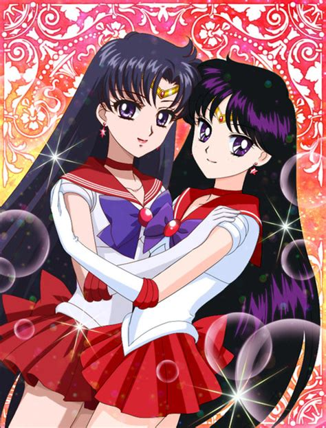 Original Sailor Moon Time Sailor Mars New 二人のセーラーマーズ 水羽 さんのイラスト ニコニコ静画 イラスト