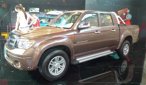ZX Auto Grandtiger pickup being sold in Malaysia