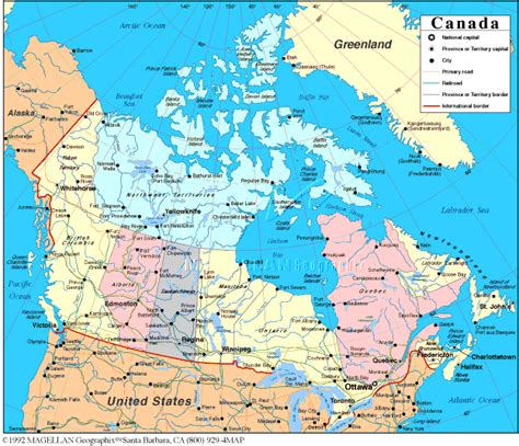 atlas map of canada links by country c