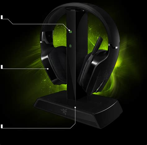 Headset Wireless Razer Experience With No Cables Restricting Your Movement The Included Charging Dock Makes Countless