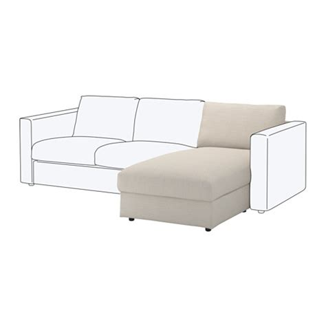 chaise en rotin ikea vimle chaise longue section gunnared beige ikea