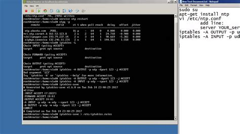 setup ubuntu ntp server sw howto configure ntp server linux and sync with