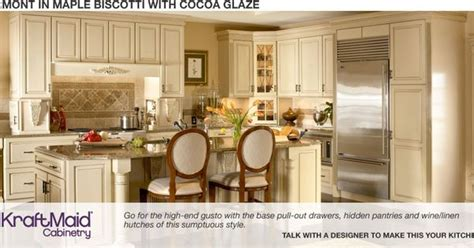 home depot custom kitchen cabinets home depot piermont in maple biscotti with cocoa glaze