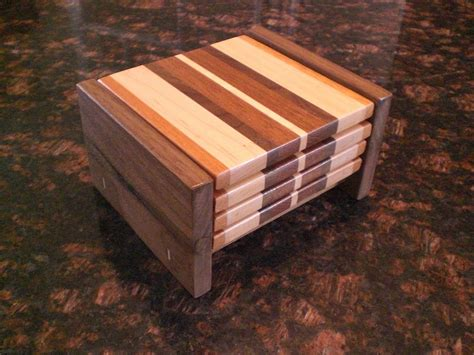 Handmade Woodworking - handmade wood coasters by oceanside woodworking inc