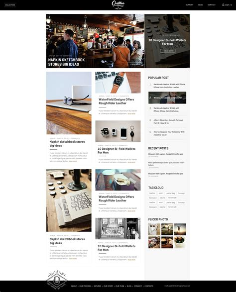blogger store themes craftlea responsive wordpress store blog theme by