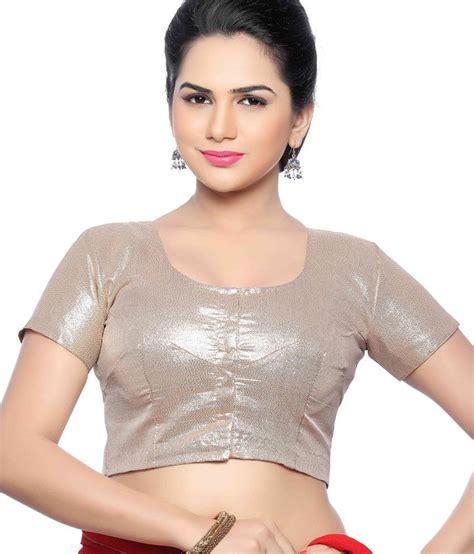 Jedar Blouse 2 N1 studio shringaar golden shimmer blouse buy studio