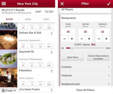 Army Decor The 10 Best Dining And Restaurant Apps Tech Lists