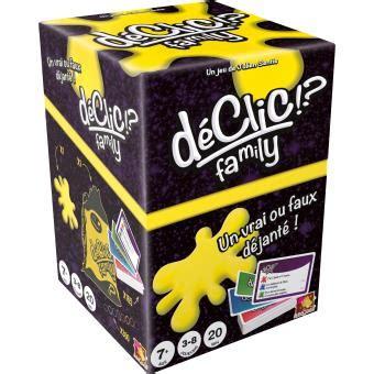 Asmodee Le Declic d 233 clic family asmod 233 e autre jeu de soci 233 t 233 achat prix fnac