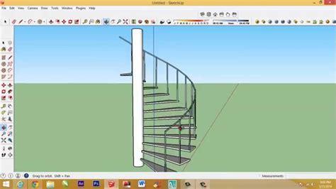 cara membuat video animasi sketchup cara membuat tangga putar dengan sketchup youtube