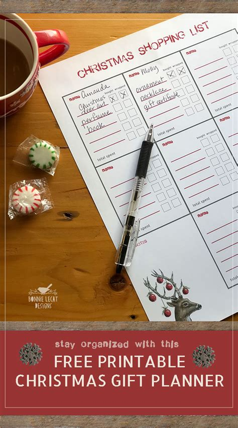 free printable christmas planner set stay organized this join the 5 day gallery wall challenge and build a simple