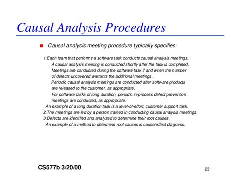causal analysis essay sle dp and causal analysis guideline