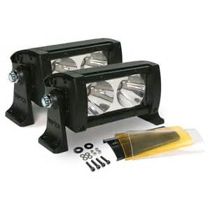 dual 5 quot wurton road led light bar by wurton