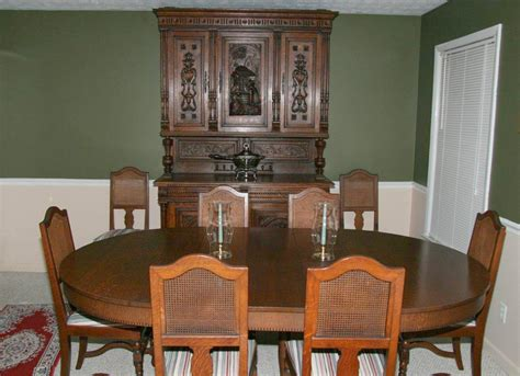 antique dining room furniture 1920 table styles home