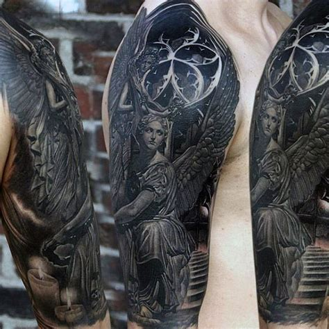 black ink tattoos for men 90 black ink designs for ink ideas