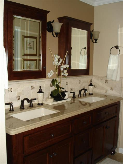 double vanity bathroom ideas bathroom backsplash beauties bathroom ideas designs hgtv