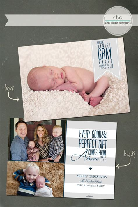 Handmade Birth Announcements - 25 best ideas about custom cards on