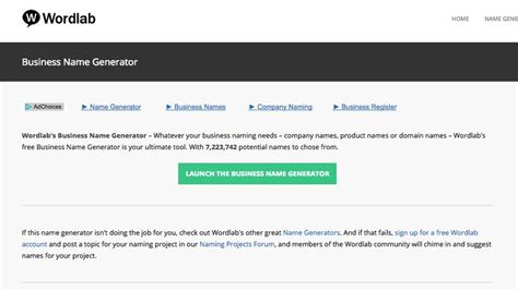 4 Letter Business Name Generator