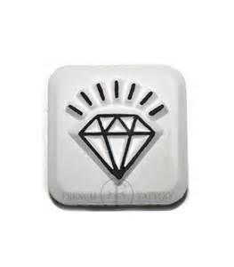 diamond temporary tattoo