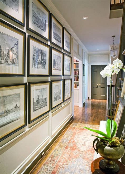 ideas on hanging pictures in hallway modern country style ten effective decorating ideas for