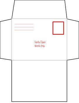blank letter santa envelope template heidi