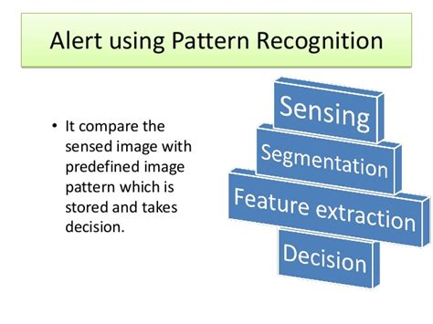 pattern recognition decision making automatic train collision and accident avoidance system