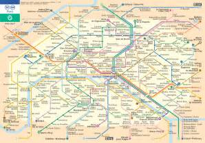 Paris Metro Map English by Art Is Autobiography November 2010