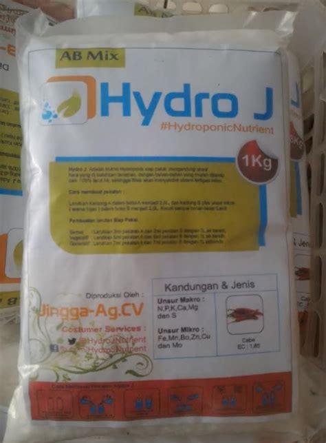 Nutrisi Hydroponik Ab Mix Hydro J Cabe jual nutrisi hidroponik ab mix cabe hydro j pekatan 2 5 l 1 kg