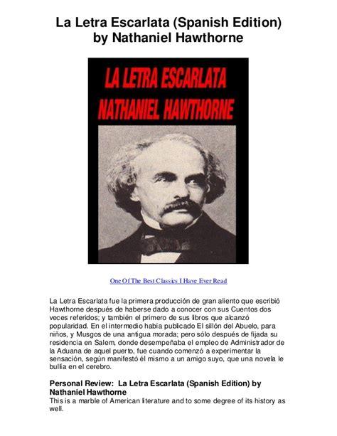 la templanza spanish edition la letra escarlata spanish edition by nathaniel ha one of the best