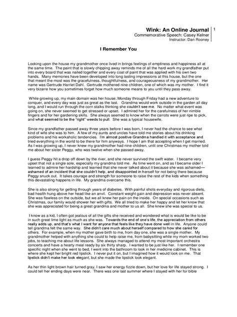 Speech Of Commemoration Sle commemorative speech exles 1 free templates in pdf