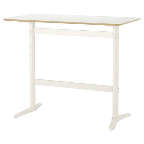 billsta bar table white white 130x70 cm ikea