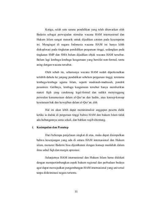 Negara Hukum Ham hak asasi manusia ham dan hukum islam