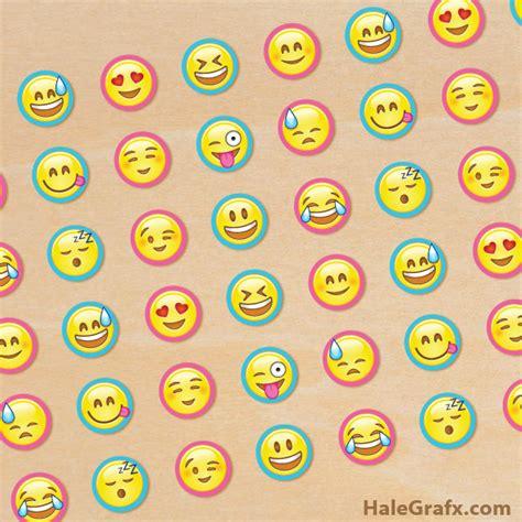 printable emojis large free printable emoji hershey kiss stickers emoji