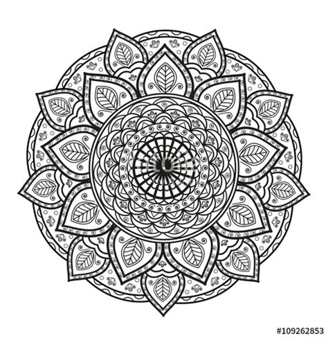 coloring castle mandala pages ausmalbilder coloring mandalas pictures to pin on