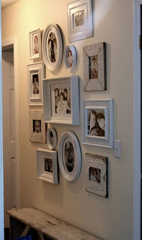 ideas on hanging pictures in hallway 17 best ideas about photo displays on picture