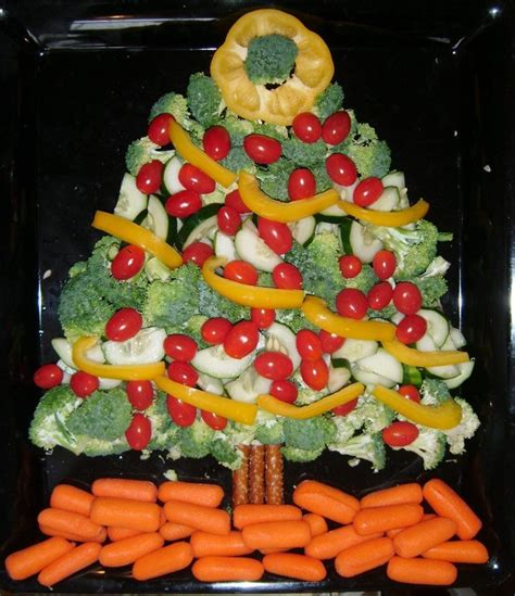 vegetable santa claus platter 22 best images about snack trays on