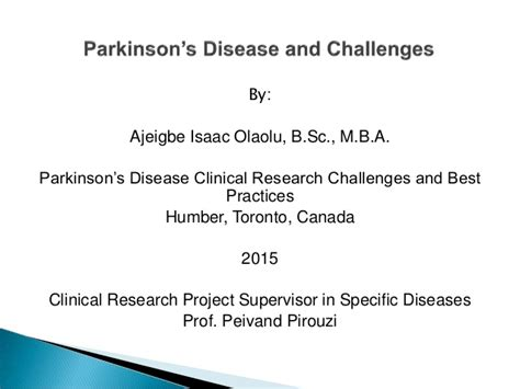 dental practices for parkinsons disease video 2 parkinson s disease clinical research challenges and best