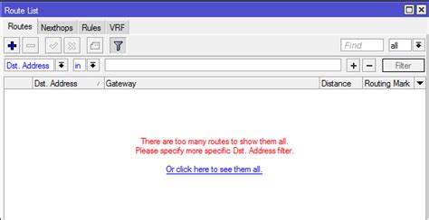 if you take a full bgp route table watch out theyre mikrotik view large routing tables bgp full feed