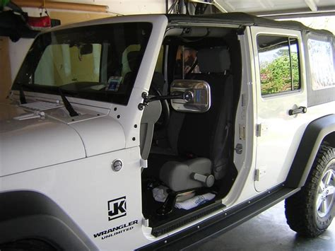 Jeep Wrangler Mirrors Without Doors Best Mirror Relocation