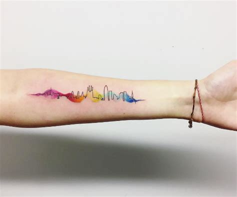 watercolor tattoo barcelona 25 cityscape tattoos of the world s most beautiful