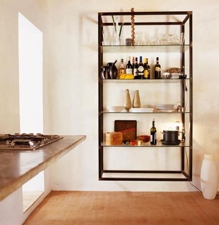 Kitchen Storage Wall Units by Storage Wall Mounted Shelving Units Remodelista