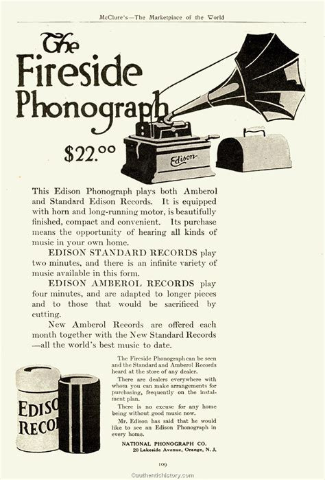 edison len the history of recorded sound