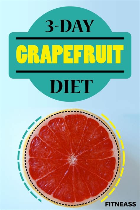 weight loss 3 day fast the 3 day grapefruit diet for fast weight loss