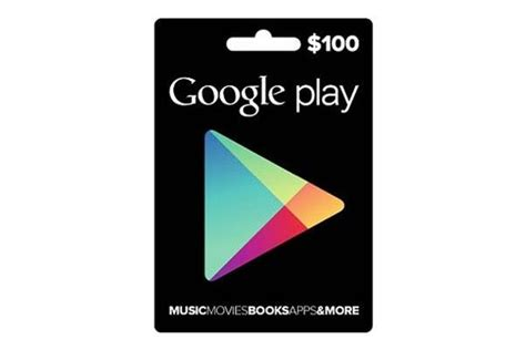 Gift Card Play Store - deal get a 100 play store gift card for just 80