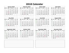 Calendar Through 2018 Printable Calendar 2018 Templates Print Calendar Template