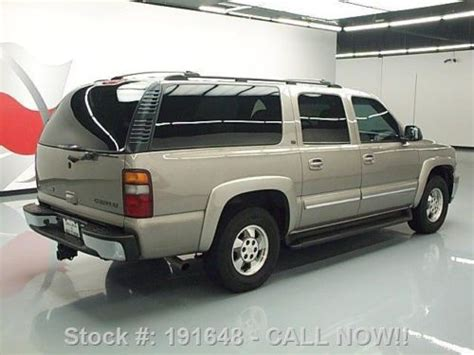 Chevy Suburban Roof Rack by Buy Used 2002 Chevy Suburban Lt 8 Pass Htd Leather Roof Rack 73k Direct Auto In Stafford