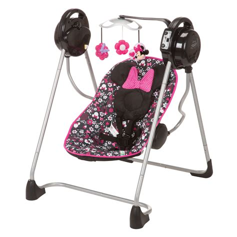 baby girl swings at walmart disney minnie mouse pop all in one swing