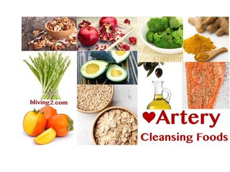 Detox Promoting Foods by Artery Cleansing Foods Bliving2